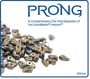 Prong 3/6mm : Oxidized Bronze